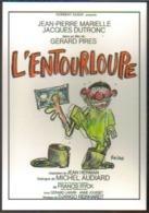 Carte Postale : L'Entourloupe (cinéma Affiche - Film De Gérard Pires) Illustration Reiser (billet De Banque) - Plakate Auf Karten