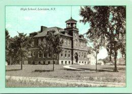 New York Lewiston High School Circa 1910 - Other
