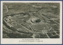 Das Reichssportfeld In Berlin Olympische Spiele 1936, Gelaufen 1936 (AK2272) - Charlottenburg