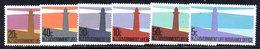 APR1386 - NUOVA ZELANDA 1981 ,  Serie Yvert N. 139/144  ***  MNH  Fari - Servizio