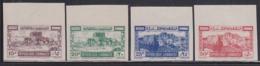 Lebanon (1945) Set Of 4 Surface Mail As Imperforates. Scott 177-80, Yvert 193-6. - Lebanon