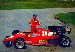 Autivettura Ferrari - Rene Arnoux - Apig Petroli - Con Autografo - Formato Grande Non Viaggiata – Fe1 - Altri