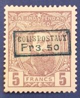 CP4 - Colis Postaux - 1889 - Blauwachtige Opdruk - Belgian Congo