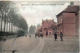 BRASSCHAET  ARRIVEE DU TRAM - Belgique