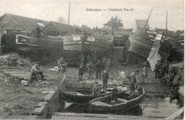 SCHOOTEN  CHANTIER NAVAL - Belgique
