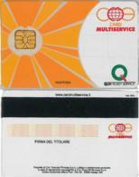 CARD MULTISERVICE QUICK TICKET (A33.7 - Altre Collezioni