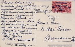 1929 , LIBANO / LIBAN , TARJETA POSTAL CIRCULADA , RODI - LA CASTELLANIA - Líbano