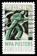 Etats-Unis / United States (Scott No.5187 - Works Progress) (o) - Used Stamps