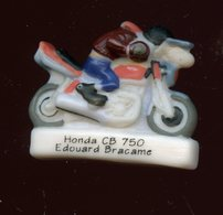 "FEVE - FEVES -  ""BAR TEAM 2 - VENTS D'OUEST"" - MOTO HONDA CB 750 - EDOUARD BRACAME - Charms"