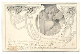 Portrait De FEMME - Illustrateur MM VIENNE - Vienne