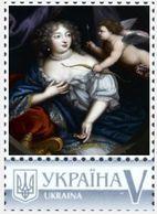 Ukraine 2019, Famous Woman, France King Minion, Françoise De Rochechouart, 1v - Ucrania