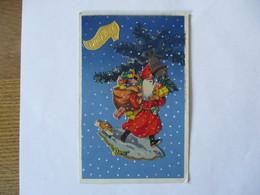 LE PERE NOËL  PART DISTRIBUER LES CADEAUX - Santa Claus