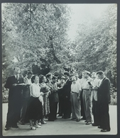 1954 Photo, Albanian Communistic Delegation In Yasnaya Polyana, Russia, USSR, CCCP, Shkodra, Scutari, Albania, Shqipëria - Personnes Anonymes