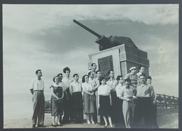 1954 Photo, Albanian Communistic Delegation In Stalingrad, Russia, URSS,USSR, CCCP, Shkodra, Scutari, Albania, Shqipëria - Personnes Anonymes