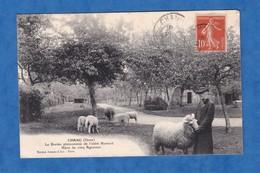 CPA - CHANU (Orne) - L' Abbé Hamard & Sa Brebis Phénomène - ( Signature De L'abbé Au Verso) - 1911 - Curiosité Bretagne - Unclassified