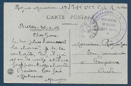 Haute Vienne  - Centre D'entrainement ...- Sous Centre De BELLAC - WW I