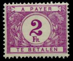 BELGIEN PORTO Nr 37 Postfrisch X941CFA - Timbres