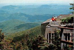 Vermont Killington Ski Resort Mountain Top Dining At The Peak Restaurant - United States