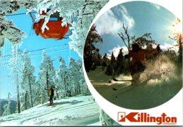 Vermont Killington Ski Resort Ski Lift - United States