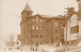 RPPC REAL PHOTO POSTCARD RENSSELAER NY #3 - Other