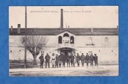 CPA - MONTBOUCHER - Entrée Des Usines Saint Joseph - 1915 - écrite Par Un Poilu Bataillon De Chasseurs Alpins - Oorlog 1914-18