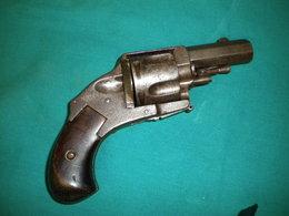 Ancien Revolver Bulldog Belge - Decorative Weapons
