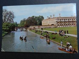 19940) CAMBRIDGE CLARE COLLEGE AND BRIDGE VIAGGIATA - Cambridge