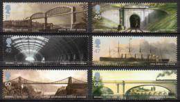 GREAT BRITAIN 2006 Brunel Birth Bicentenary - 1952-.... (Elizabeth II)