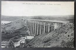 CPA 22 BREHEC PLOUEZEC - Le Viaduc - Les Falaises - Barat 1676 - Réf. V 196 - Other Municipalities