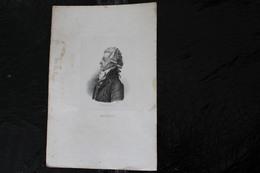 DH / Antoine-Pierre-Joseph-Marie Barnave Est Un Homme Politique Français, Né à Grenoble Le 22 Octobre 1761 / 16x24 Cm - Documents Historiques