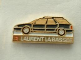 PIN'S CITROËN - LAURENT LA BASSEE - ZX BREAK - Citroën