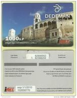 SYF01004 Syria Internet Access Card / Phonecard / Dedeman Hotel / 1000 Sp / Used - Syria