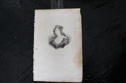 DH / Marie Anne Charlotte De Corday D'Armont, Retenue Par L'Histoire Sous Le Nom De Charlotte Corday, / 16x24 Cm - Documents Historiques