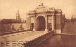 YPRES - Porte De Menin.  Mémorial Des Héros Britanniques - Ieper