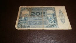 LUXEMBOURG 20 FRANCS 1929 - Luxembourg