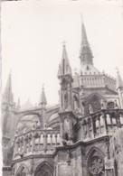 REIMS, CATHEDRAL. PHOTO ORIGINAL CIRCA 1960's SIZE 9.5x7cm  - BLEUP - Luoghi