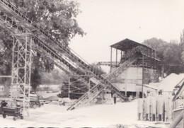 FABRICA CAMUS EN MONTEÇON. PHOTO ORIGINAL CIRCA 1960's SIZE 10x7cm  - BLEUP - Places