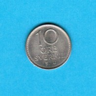 SWEDEN   10 ORE 1969 (KM # 835) #5237 - Sweden