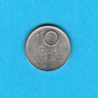 SWEDEN   10 ORE 1972 (KM # 835) #5239 - Sweden