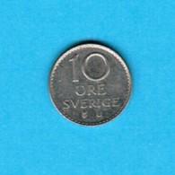 SWEDEN   10 ORE 1973 (KM # 835) #5242 - Sweden