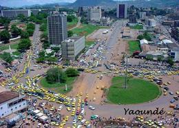 Cameroon Yaounde Aerial View New Postcard Kamerun Cameroun - Kamerun