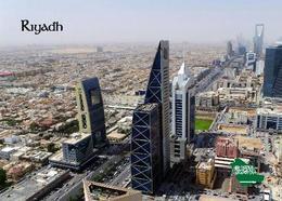 Saudi Arabia Riyadh Aerial View New Postcard Saudi Arabien AK - Saudi-Arabien