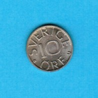 SWEDEN   10 ORE 1979 (KM # 850) #5244 - Sweden