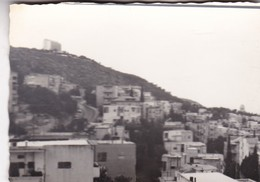 VISTA DEL HOTEL MIRADOR EN MTE CARMEL. HAIFA. PHOTO ORIGINAL CIRCA 1960's SIZE 10x7cm  - BLEUP - Places