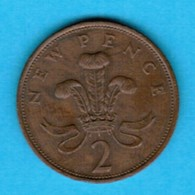 GREAT BRITAIN  2 NEW PENCE 1978 (KM # 916) #5246 - 2 Pence & 2 New Pence
