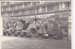 MURO DE LA LUNA, UNESCO, PARIS. PHOTO ORIGINAL CIRCA 1960's SIZE 10x7cm  - BLEUP - Luoghi