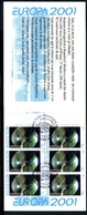 Moldawien Markenheftchen MiNr. MH 0-4 Ersttagssonderstempel Cept 2001 (O5956 - Moldawien (Moldau)