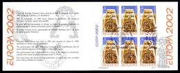 Moldawien Markenheftchen MiNr. MH 0-5 Ersttagssonderstempel Cept 2002 (O5963 - Moldawien (Moldau)