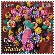 2016 MÉXICO DÍA DE LAS MADRES, FLORES MNH, Mother's Day Flowers, Sc. 3003 MNH - Mexico