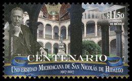 2017 MÉXICO UNIVERSIDAD De SAN NICOLAS De HIDALGO, MNH ARCHITECTURE, UNIVERSITY, EDUCATION - Mexico